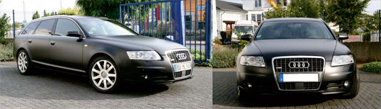 Car Wrapping Troisdorf, audi-a6-ml